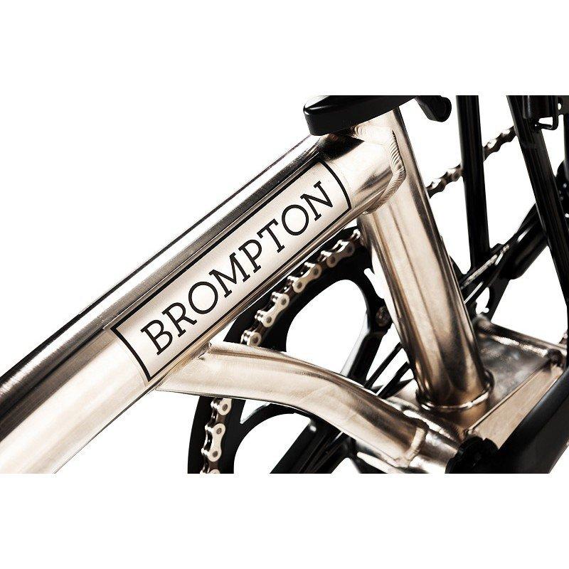 d01a491609a75 Brompton Nickel Black edition M6R | Cyklospeciality