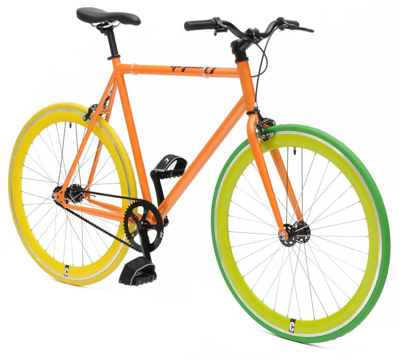 Cheetah Orange - singlespeed+festka