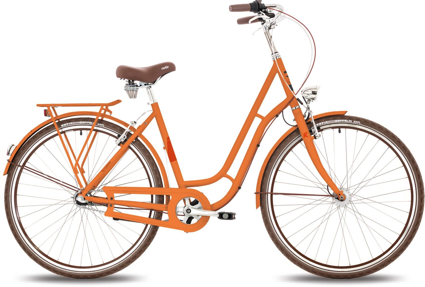 Mestský bicykel Frappe city FCL 300.3 orange matt